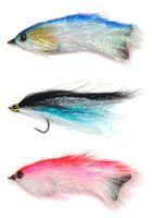 Wholesale steel salmon for sale - 3pcs Bass Trout Salmon Steelhead Pike Fly Fishing Streamer Flies Shad New