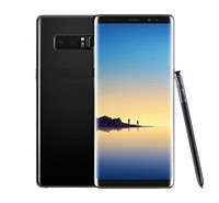 Wholesale google cellphones - 6.3inch Curved screen Goophone Note8 N8 Cellphone Octa Core 4GB RAM 64GB ROM Fingerprint Android 7.0 Show 4G LTE Unlocked Note 8 Smartphone