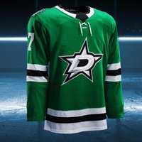 Wholesale Seasons Star - 2017-2018 Season Custom Dallas Stars Ales Hemsky Denis Gurianov Brett Ritchie Dan Hamhuis Julius Honka Esa Lindell Patrik Nemeth Jerseys