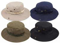 Wholesale Cowboy Rain Hats For Men - New Arrival Casual Ourdoor Sunshade Hat Cap Homburg Travel Fishing West Cowboy Fashion Bucket Hats For Men 20 pcs free shipping