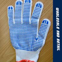 Wholesale Point Gauze - 2017 Manufacturers selling hot cotton gauze warm plastic gloves pvc point beads point plastic dispensing gloves