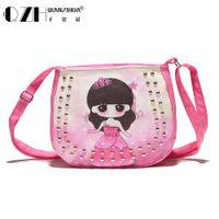 Wholesale Diagonal Bags - Wholesale- 2016 Candy Color Fashion Bag Accessories Kids chic Handbags Children cute girl diagonal package
