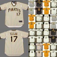 ott throwback jersey - Pittsburgh Pirates JIM LEYLAND RICHIE HEBNER JOSE PAGAN GENE ALLEY ED OTT DOUG DRABEK DOCK ELLIS Throwback Baseball Jersey