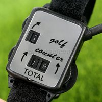 часы обучения оптовых-Wholesale- 1Pc Mini Black Golf Training Aids Wristband Golf Club Stroke Score Keeper Count Watch Putt Shot Counter Sports Golf Accessories