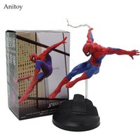 Wholesale Spider Man Series Toy - Spiderman Series Spider-Man PVC Action Figure Collectible Model Toy 15cm KT3711