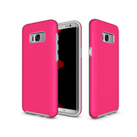 Wholesale Galaxy Phone Plastic Cases - Dual Hybrid PC+TPU Duty Armor Case For Samsung Galaxy S5 S6 S7 edge S8 Plus J5 J7 Prime On5 On7 2016 G570 On nex G610 Phone Back Cover