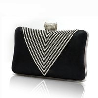Moda Crystal Handbag Luxo Rhinestone Leather Evening Bags Mulheres Festa Casamento Hand Bags Purse Clutches Ladies Crossbody Bags