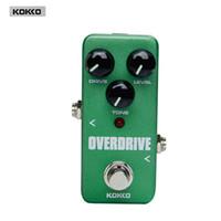 Wholesale Guitar Portable Accessories - Guitar Parts & Accessories KOKKO FOD3 Mini Overdrive Pedal Portable effect Guitar effect pedal