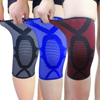 Wholesale piece Knee Pads High Elasticity Sport Knee Support Guard Four Seasons Outdoor Sports Protector Kneepad Warm Relieve Joint Pain