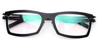 Wholesale Designer Urban - Germany designer glasses frame clear lenses IC urban without screw brand eye glasses frames removable stainless steel metal eyewear frames