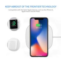 samsung mobiles yeni gelenler toptan satış-2017 yeni varış qi kablosuz şarj için iphone x 10 w hızlı şarj pad samsung için not 8 galaxy s8 artı s7 kenar cep telefonu şarj