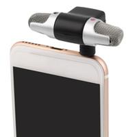 ingrosso microfono del registratore vocale-Nuovo Mini Microfono stereo digitale Microfono portatile per registratore PC Telefono cellulare Microfono professionale Mini registratore vocale stereo