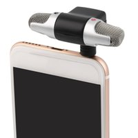 Wholesale Wire Recorders - New Portable Mini Mic Digital Stereo Microphone for Recorder PC Mobile Phone Wholesale Microphone Professional Mini Recorder Stereo Voice
