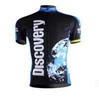 Wholesale 2017 Tour de France Discovery channel Team Bicycle jersey Cycling clothing Bike wear Cycling jersey Short sleeve Jersey Top