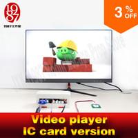 ic player venda por atacado-Escape quarto prop Video player versão do cartão IC Passe o cartão IC diferente e jogar pista de vídeo diferente Kit de fuga do quarto jxkj1987