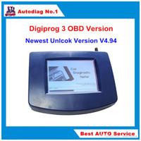 кабель obd2 usb renault оптовых-Запас Digiprog 3 БД версия одометр коррекции инструмент Digiprog III основной блок только Digiprog3 одометр программист OBD2 ST01 ST04 кабель