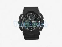 sport dropshipping großhandel-1 stücke Neue top relogio G100 männer sportuhren, LED chronograph armbanduhr militäruhr digitaluhr, gutes geschenk für, dropshipping