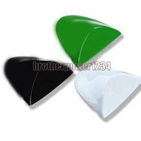 ingrosso zx6r verde-Coprisedile per sedile posteriore in ABS nero / bianco / verde per Kawasaki ZX6R 2005 2006