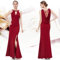 Wholesale Cake Sexy Model - Sell like hot cakes! Unique Rhinestones Long Party Bridesmaid Formal evening Dress