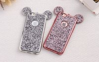 Bling Paillettes TPU Funda para iPhone 7 7plus Moto G3 Cubierta Glitter Shell Capa para iPhone 6 casos Coque Fundas Teléfono