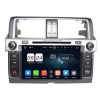 "Wholesale Toyota Prado Audio - 2GB RAM Octa Core 2 din 9"" Android 6.0 Car DVD Car Audio DVD Player for Toyota PRADO 2014 2015 With Radio GPS 4G WIFI Bluetooth USB DVR"