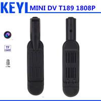 Wholesale Mini Dv Mp3 - Wholesale-new mini dv T189 Spy mini camera HD 1080 P 720 P Micro Camera Digitale DVR Cam Video Voice Recorder mini Camcorder