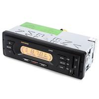 pantalla de visualización de 12v al por mayor-USB SD MP3 Reproductor multimedia Pantalla LCD Pantalla de alta definición Audio de FM Escaneo automático AV65D 12V Radio estéreo para audio de automóvil