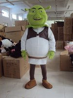 Wholesale Shrek Clothes - 2017 Shrek mascot costume cute cartoon clothing factory customized private custom props walking dolls doll clothing