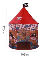 Wholesale Ball House Tent - Children's tents indoor folding large game house ocean ball ger toys Portable magi house large indoor and outdoor tent