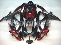 Wholesale Buy Fairings - Free gifts+Seat Cowl New motor Fairing Kits For SUZUKI GSXR 600 750 K6 06 07 GSXR-600 GSXR750 GSXR600 GSXR-750 2006 2007 hot buy red black