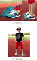 Wholesale Boys Korean Shoes - 2017 spring and autumn season, new Korean tide women's shoes, casual soft bottom boys, children's sports shoes