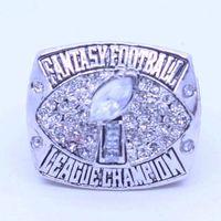 Wholesale Men Fantasies - 2017 Fantasy Football League Championship ring, football fans ring, men of women gift ring