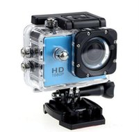 Wholesale Hd Camcorder Cheapest - 2017 Cheapest copy for SJ4000 A9 style 2 Inch LCD Screen mini camera 1080P Full HD Action Camera 30M Waterproof Camcorders Helmet Sport DV