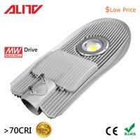 led luminaire design with best reviews - 50W COB LED Street Light Roadway Luminaire Fixtures Mean Well Drive Integrated design