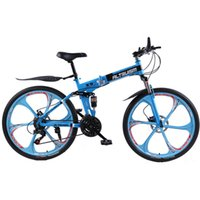 Wholesale ALTRUISM X9 Mountain Bike Steel speed inch Folding bicycle Double Disc Brake Bikes