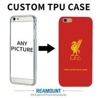 Wholesale Iphone Case Diy Design - 100pcs wholesale Personalized case DIY case for iPhone 6s 7plus 5s Custom Design High Quality TPU Case for iPhone 5s 6 7 7plus