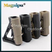 Wholesale Magaipu High Quality Tactical Compact Type Buttstock For AR15 M16 Carbines Using CTR version Black Tan