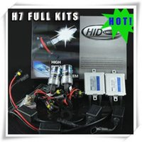 Wholesale H11 Hid Kit Canbus - Wholesale 10 sets  carton Single Beam xenon H1 H3 H7 H11 9005 9006 880 HID KITS CANBUS ODB ballast 12v 35w high quality 14 months warranty