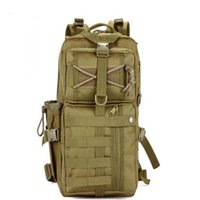 Wholesale Swat Backpacks - Outdoor Military Tactical Assault Camo Soldier Backpack Molle System 3 Day Life Saver Bug Out Bag Survival SWAT Police 2Opcs lots
