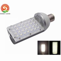 Wholesale 256 Led Light - E40 28W LED Corn Light Street Lights Road Lamp Epistar Lamp Garden Outdoor 85-256 V high power Bridgelux CE & RoHS
