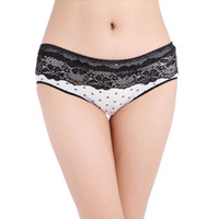 Wholesale Bamboo Panties - Sales Promotion! Factory Price Ladies Cotton Panties High Bamboo Underwear Women Hot Sale Sexy Intimate Panty