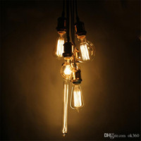 Wholesale Globe Industrial - 40W 60W Filament Light Bulbs Vintage Retro Industrial Style edison Lamp E27 Antique Lamp Light Edison Light Bulb