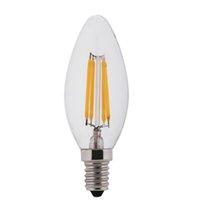 Wholesale E14 Candle Dim - E12 Vintage dimmer LED Edison Filament Light 110V 220V E14 Led COB Bulb Lamp C35 2W 4W 6W Energy Saving Lamp E27 candle Light