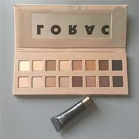 augen schatten grundierung großhandel-Auf Lager Hot Makeup LORAC PRO 3 Palette Lidschatten Primer Lidschatten 16 Farben Palette HOHE Qualität + Geschenk