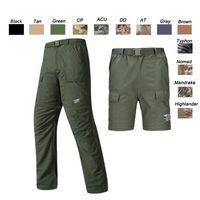 ingrosso bdu uniforme dell'esercito-Outdoor Woodland Caccia Tiro Battle Dress Uniforme Tattico BDU Army Combat Abbigliamento Quick Dry Pantaloncini Camouflage Pantaloni SO05-112