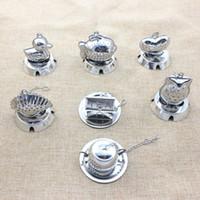 Wholesale accessories animal shape online - Creative Teas Strainer Animal Shape Stainless Steel Tea Ball Filter For Home Kitchen Accessories Many Styles zy C R