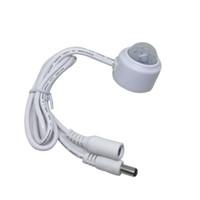 ик-переключатель движения оптовых-PIR лампы ИК инфракрасный индукции человеческого тела переключатель управления светом потолочный светильник датчик движения детектор Вкл Выкл
