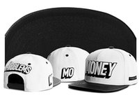 Wholesale Snapback Min Order - Cayler & Sons MONEY PROBLEMS leather snapback caps men women Adjustable gorras bones hip hop sports baseball hats without the min order