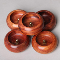 Wholesale incense holders wholesale - Fragrance Lamps Seat Rosewood Bowl Gourd Shape Incense Burner Delicate Top Quality Holders Furnace Home Decor Hot 9at F R