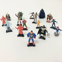 2017 Mini Figurines d'action Gashapon Super Hero Cartoon The Avengers Gachapon Capsule Jouets minifigures Mignon pour les enfants Cadeaux de Noël